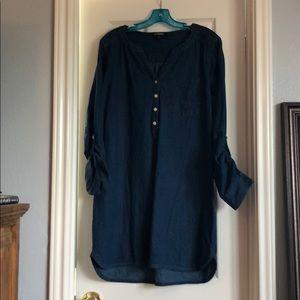 Express large jean dress